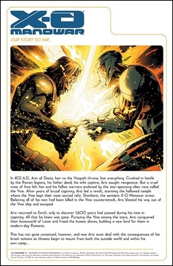 X-O Manowar #17 Preview 1
