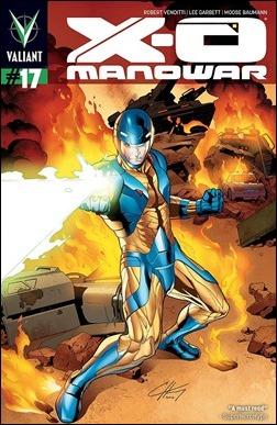 X-O Manowar #17 Variant Cover - Henry