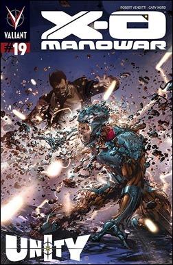 X-O Manowar #19 Cover - Crain