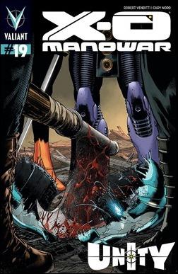 X-O Manowar #19 Cover - Pullbox Variant