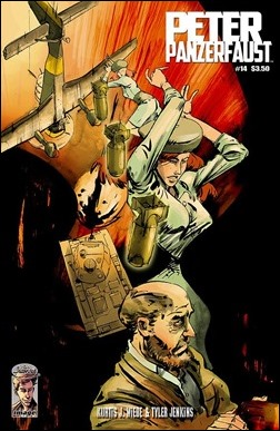 Peter Panzerfaust #14 Cover