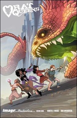 Rat Queens #1 Fiona Staples Incentive Cover