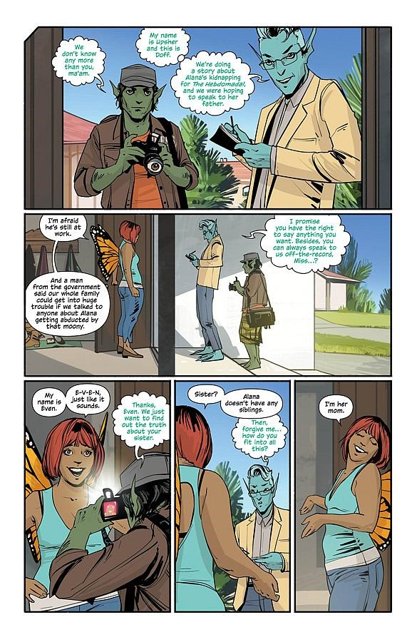 Saga comic book cosplay