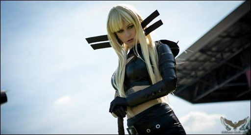 Stacey Rebecca as Magik (Photo by Colchester Media)