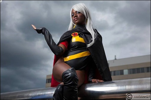 Maki Roll as X-Treme X-Men Storm (Photo by Coolsteel27 Photography)