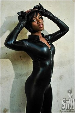 Maki Roll as Catwoman (Photo by S 'n M Productions)