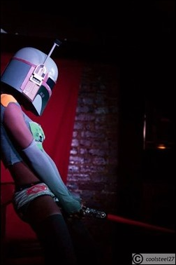 Maki Roll as Boba Fett (Photo by Coolsteel27 Photography)