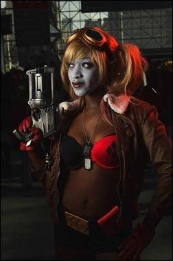 Maki Roll as Harley Quinn (Photo by Senen Llanos of DESTRUCTOID)