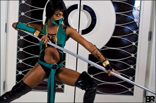 Maki Roll as Jade (Mortal Kombat) (Photo by Bentpic5)