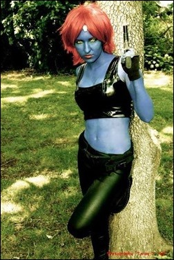 Jeanne Killjoy as Mystique (Photo by Jam Packed Photos)