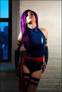 Jeanne Killjoy as Psylocke (Photography by M9)