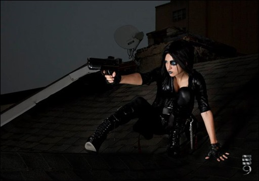 Jeanne Killjoy as Domino (Photography by M9)