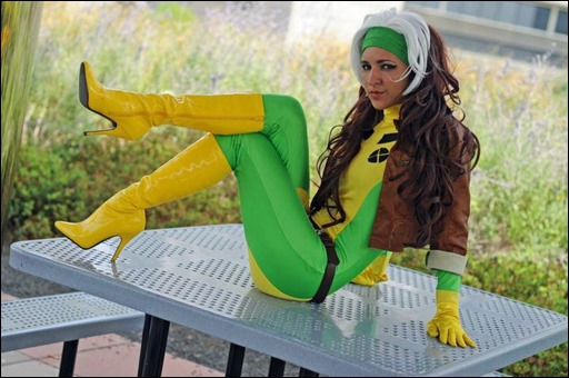 Jeanne Killjoy as Rogue (Photo by P Karpey Photography)
