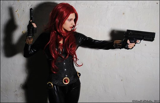 Jeanne Killjoy as Black Widow (Photography by MindFall Media)