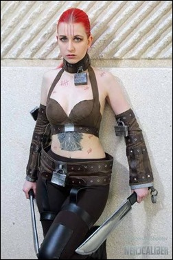 Stacey Rebecca as Zsasz (Arkham City) (Photo by FirstPerson Shooter)