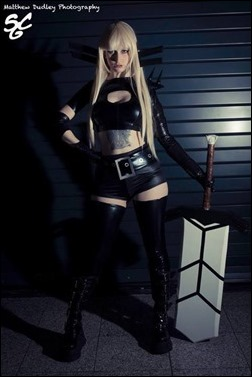 Stacey Rebecca as Magik (Photo by Matthew Dudley Photography)