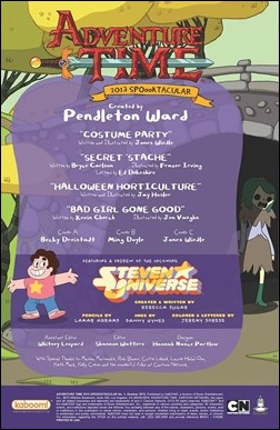 Adventure Time 2013 Spoooktacular #1 Preview 3