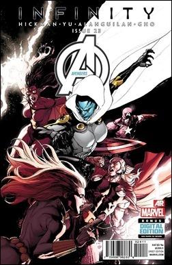 Avengers #23 Cover