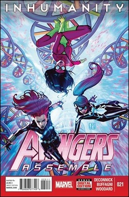 Avengers Assemble #21 Cover