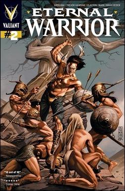 Eternal Warrior #2 Cover - Jones