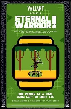 Eternal Warrior #2 Cover - 8bit Variant