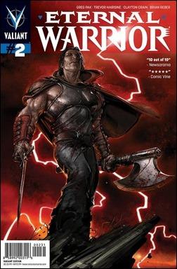 Eternal Warrior #2 Cover - Crain