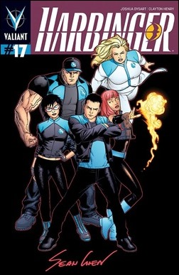 Harbinger #17 Cover - Chen