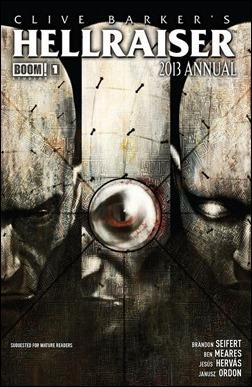 Hellraiser Annual 2013 #1 Cover