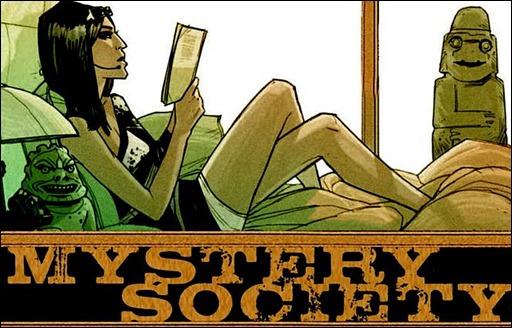 Mystery Society Deluxe HC