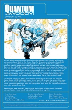 Quantum and Woody #5 Preview 1