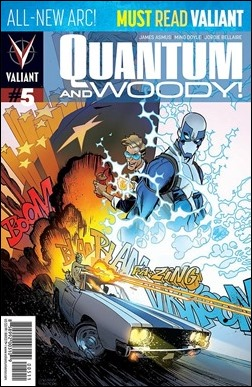 Quantum and Woody #5 Cover