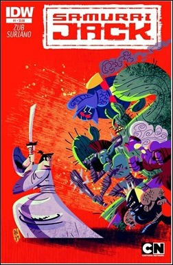 Samurai Jack #1 Cover