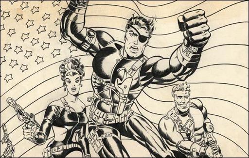 Steranko Nick Fury: Agent of S.H.I.E.L.D. Artist's Edition