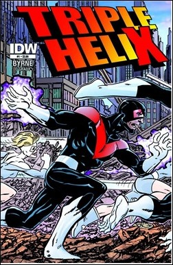 Triple Helix #1 Cover