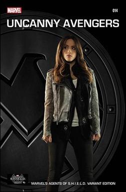 Uncanny Avengers #14 Marvel's Agents of S.H.I.E.L.D. Variant Cover