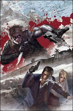 Winter Soldier: The Bitter March #1 Variant Cover