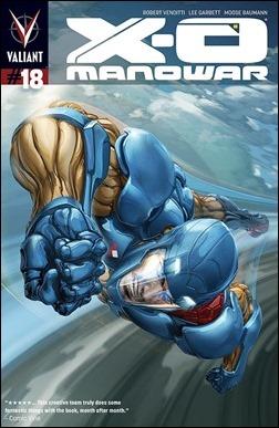 X-O Manowar #18 Cover - Crain