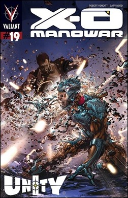 X-O Manowar #19 Cover