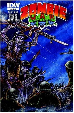 Zombie War #1 Cover