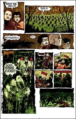 Zombie War #1 Preview 4