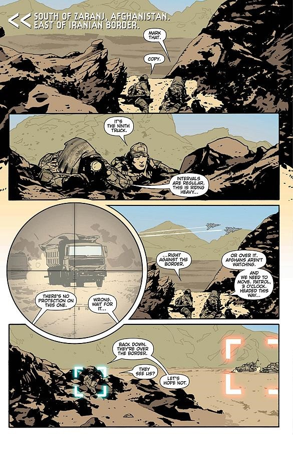 Preview The Activity 15 By Nathan Edmondson And Mitch Gerads