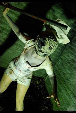 Sirene as Bubblehead Nurse [Silent Hill: The Movie] (Photo by CourtoonXIII)