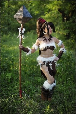 Sirene as Nidalee [League of Legends] (Photo by Anna Fischer)