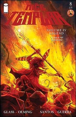 Mice Templar IV: Legend #8 Cover