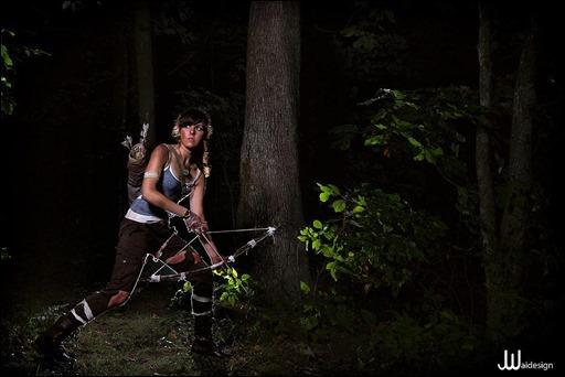Sirene as Lara Croft [Tomb Raider (2013)] (Photo by JwaiDesign Photography)