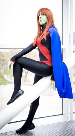 Sirene as Miss Martian (Stealth Suit) [Young Justice] (Photo by LJinto)