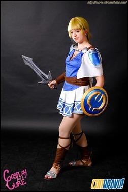 Olivia Ward as Sophitia (Photo by Amanda Elemental Irwin)