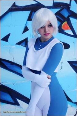 Olivia Ward as Ice (Photo by http://xandrocameron.blogspot.com/)