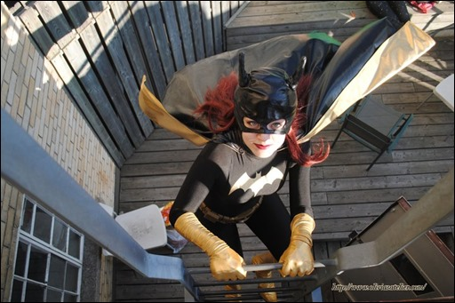 Olivia Ward as Batgirl (Photo by JJAB Productions)