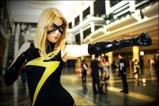 Jenifer Ann as Ms. Marvel (Photo by Patrick Sun)